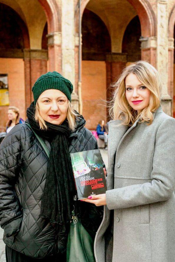 Giorgia Verasani and Joanna Longawa in Bologna, March 2016 @ Photo by Daniele Flaiban