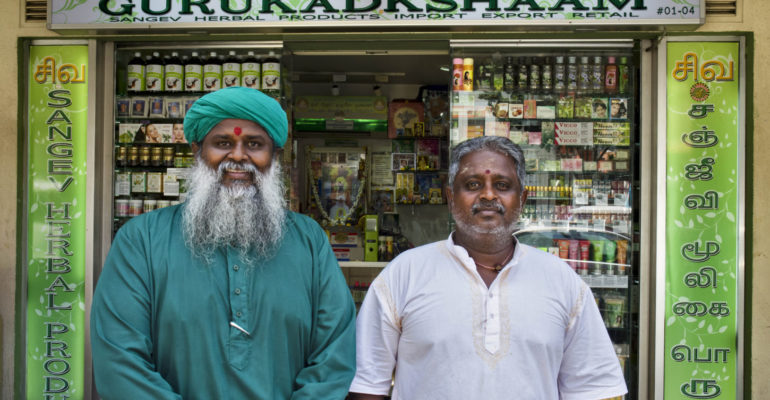 Singapore shopkeepers