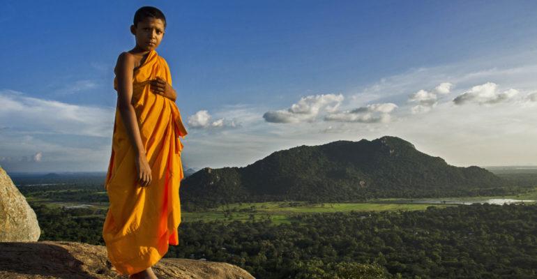 Sri Lanka Monk