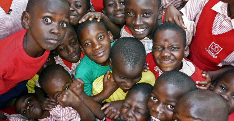 Uganda, School Kids