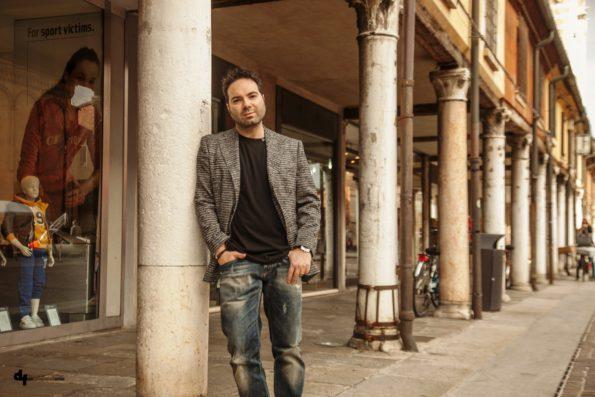 Marcello Simoni for JL INTERVIEWS MAGAZINE @ Photo by Daniele Flaiban