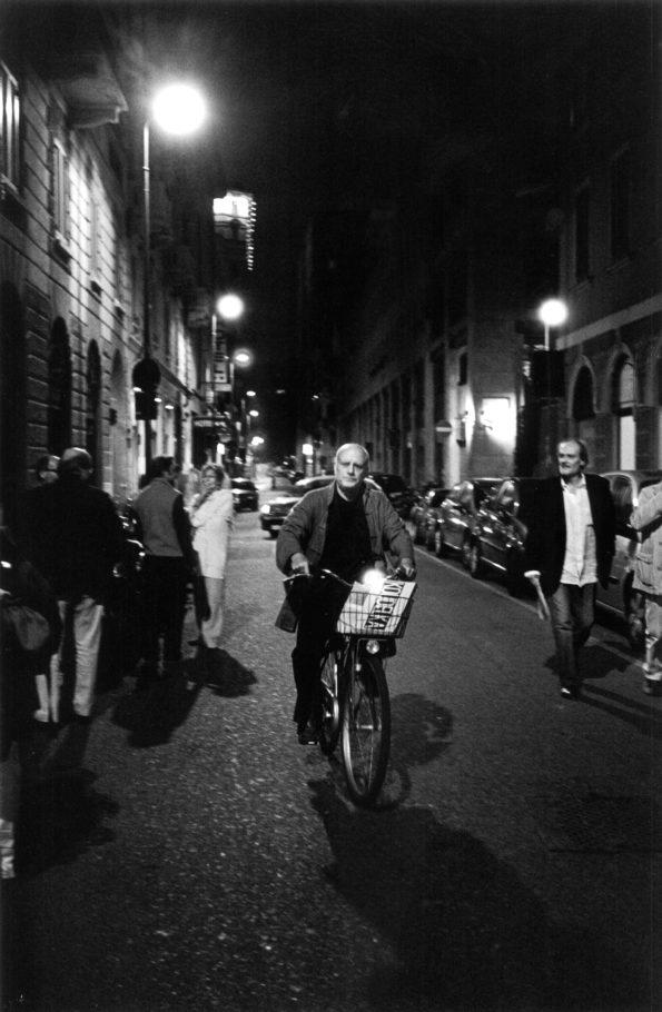 Ferdinando Scianna photographed in 2012 by Roberto Strano