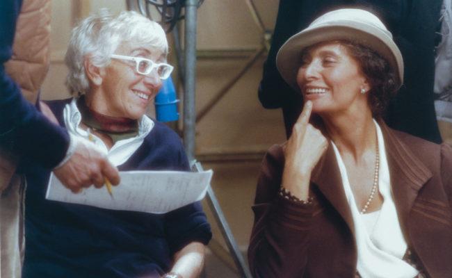 Director with Sophia Loren