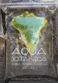 Botanic Water Exhibition